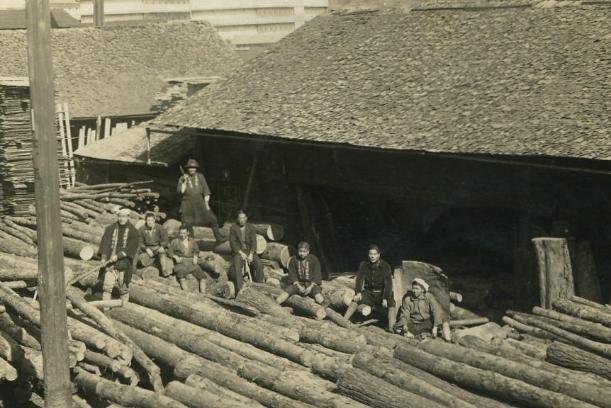 創業時のカク山木材建設有限会社